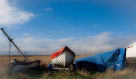 Aldeburgh łodzie Obrazy Royalty Free
