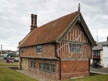 ALDEBURGH, SUFFOLK/UK - JULY 31 : Aldeburgh Moot Hall Timber Fra Stock Photos