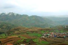 A aldeia da montanha Imagem de Stock
