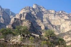 Aldeia da montanha Imagem de Stock