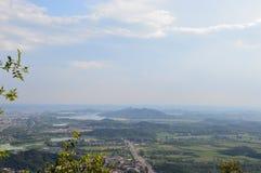 Aldeia da montanha Foto de Stock
