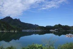 Aldeia da montanha da molva de Wu Imagem de Stock