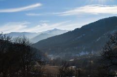 Aldeia da montanha em Armênia Ijevan Foto de Stock Royalty Free