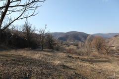 Aldeia da montanha em Armênia Ijevan Fotografia de Stock Royalty Free
