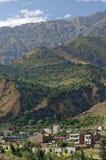 Aldeia da montanha, peru fotografia de stock royalty free