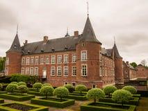 Alden Biesen Castle in Belgien Lizenzfreies Stockfoto