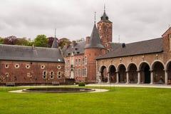 Alden Biesen Castle nel Belgio Fotografie Stock Libere da Diritti