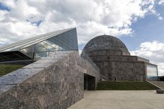 Alden Planetarium in Chicago Stockbilder