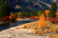 Alder Creek Autumn View 4 Stock Photos