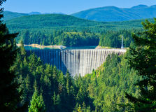 Alder Dam, Nisqually River, Washington Stock Image