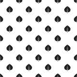 Alder leaf pattern vector. Alder leaf pattern seamless in simple style vector illustration stock illustration
