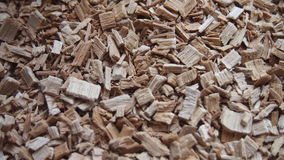 Alder sawdust. For backgrounds and textures Stock Photography