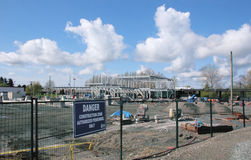 Aldergrove Border Expansion Stock Photo