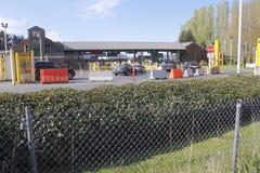 Aldergrove-Grenzüberschreitung lizenzfreies stockbild