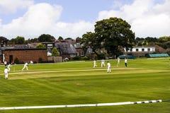 Alderley边缘蟋蟀俱乐部是一家非职业蟋蟀俱乐部根据在Alderley边缘在彻斯特 免版税库存照片