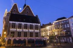 Aldermen's House in Mechelen in Belgium Royalty Free Stock Images