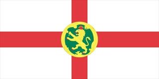 alderney标志 皇族释放例证