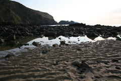 alderney海滩 库存照片