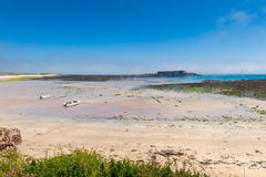 Alderney Beach at Low Tide Royalty Free Stock Photography