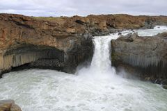 Aldeyjarfoss Stock Photography