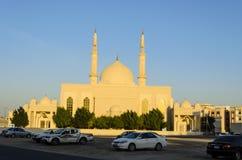 Aldhiya'a Meczetowy Sharjah UAE Obrazy Stock