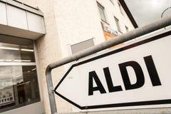 Aldi Royalty Free Stock Photography