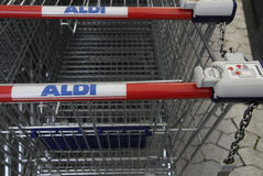 ALDI MARKET Stock Photography
