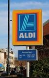 Aldi Shop sign Royalty Free Stock Image