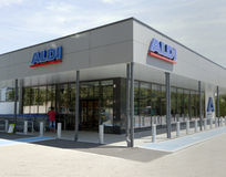 Aldi store Stock Photography