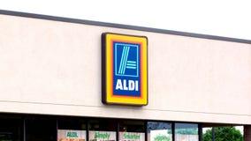 Aldi Store stock video