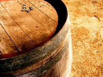 Aldinga Wine Barrel Stock Photos