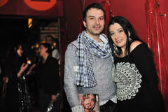 Aldino and Kaliopi Royalty Free Stock Photos