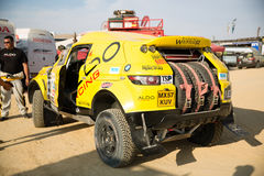 Aldo Races Dakar 2013 Royalty Free Stock Photography