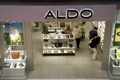 Aldo shoe store Royalty Free Stock Image