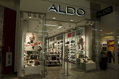 Aldo Shoe store editorial stock photo