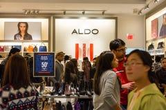Aldo sklep na Black Friday, 2014 zdjęcie royalty free