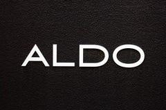 Aldo store sign stock photo