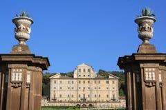 Aldobrandini villa in Frascati (Rome, Italy) Royalty Free Stock Image