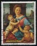 Aldobrandity Madonna by Raphael Stock Photos