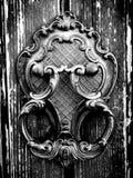 Aldrava de porta Fotografia de Stock