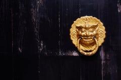 Aldrava de porta chinesa fotos de stock royalty free
