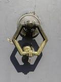 Aldrava de porta de bronze barroco foto de stock royalty free