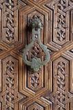 Aldrava de porta marroquina Fotografia de Stock Royalty Free