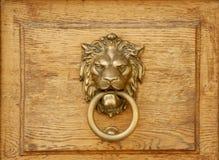 Aldrava do leão Imagem de Stock Royalty Free