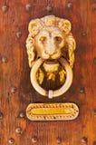Aldrava e caixa postal Imagem de Stock Royalty Free