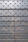 Aldrava marrom de bronze oxidada Italia lombardy de Arsago Imagens de Stock