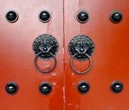 Aldravas de porta tradicionais Imagens de Stock