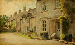 Aldsworth  village Stock Image