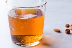 Ale Beer dorato in un vetro fotografia stock