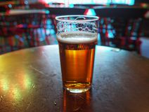 Free Ale Beer Pint Anaglyph 3D Image Stock Photography - 103242452